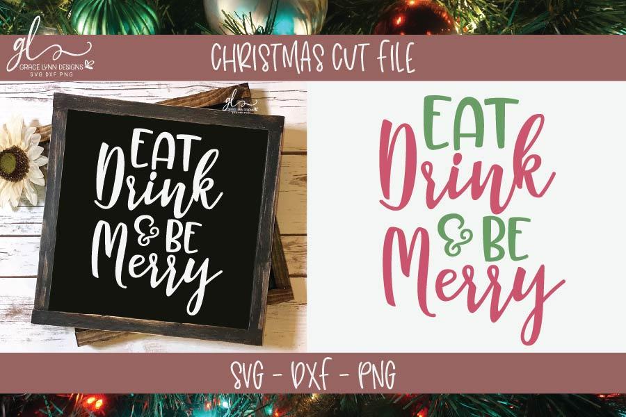 Huge Christmas Bundle - SVG, DXF & PNG - 25 Designs example image 5