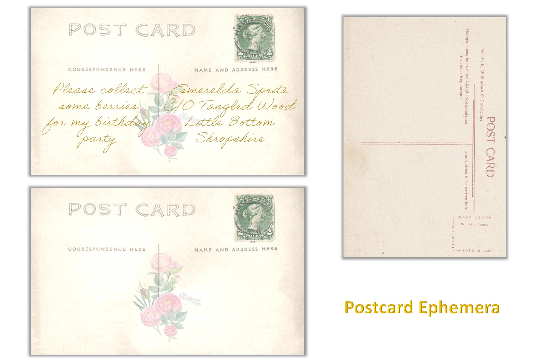 Printable Fairy Journaling Kit, Free Ephemera and PNGs example image 9