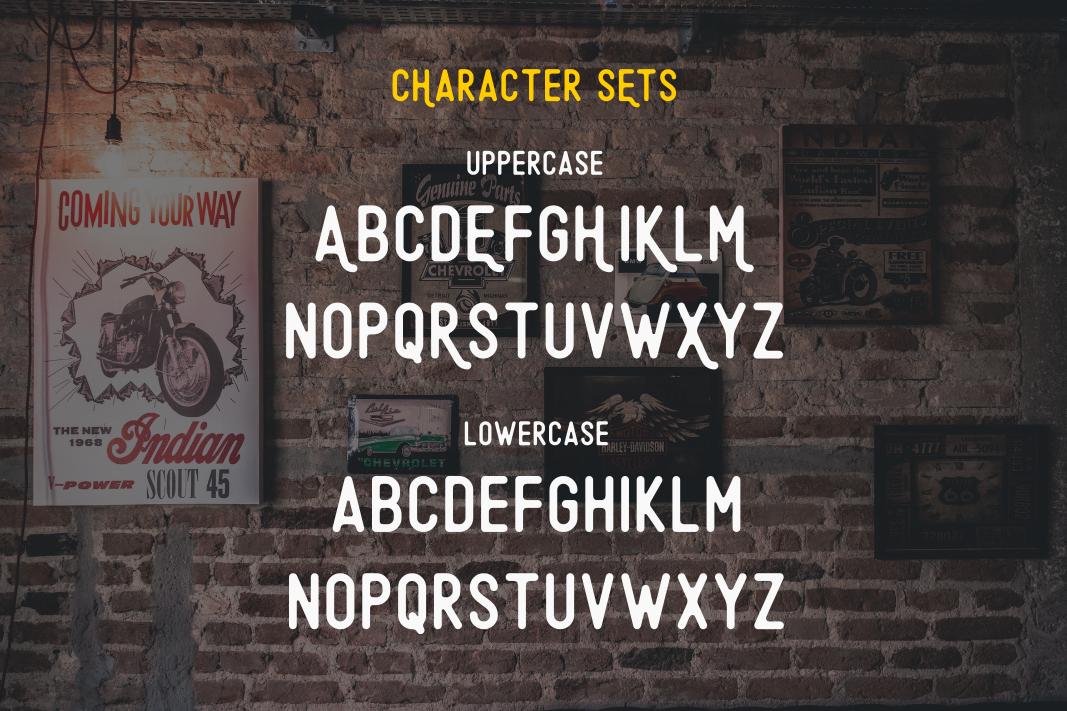 Original - A Minimalist Font example image 7