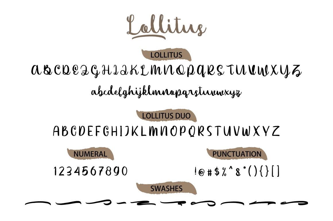 Lollitus Font Duo example image 4