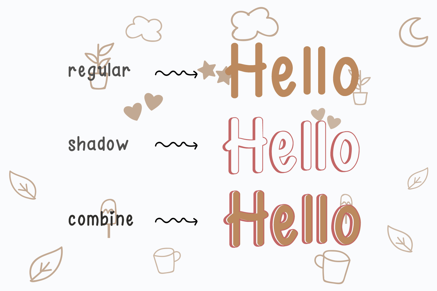 Hello Day - A Fun and Cute Font example image 2