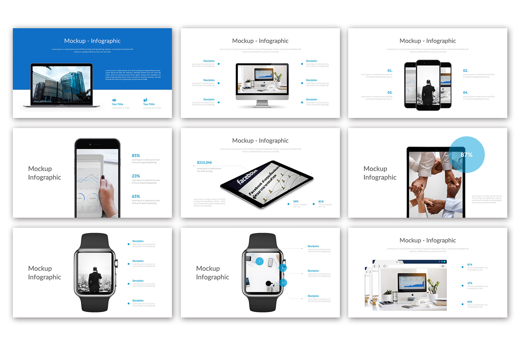 Big Business Presentation Template example image 8
