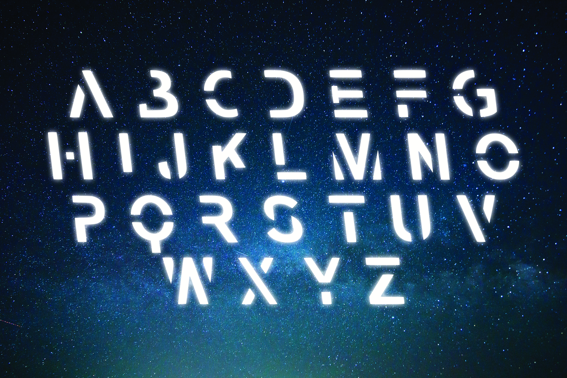 VOYAGER - Typefaces of the Future example image 6
