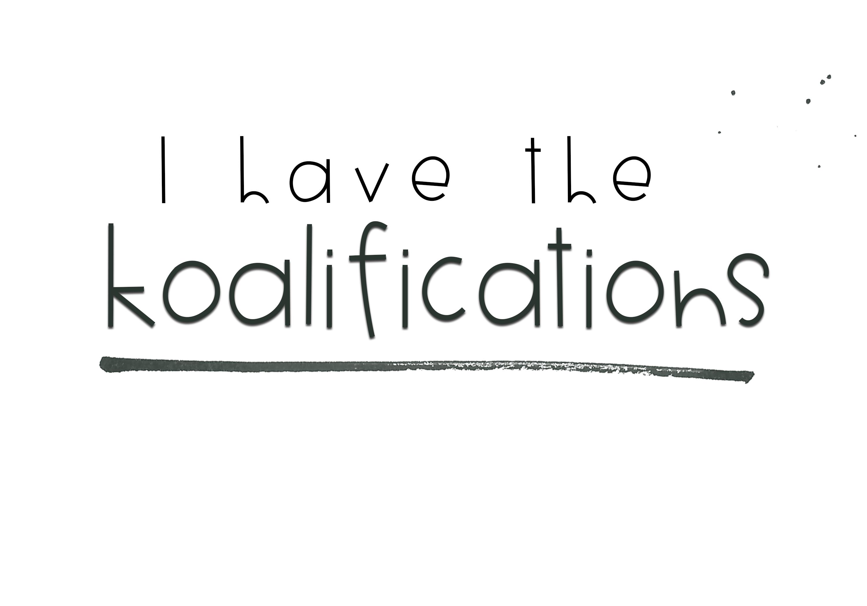 Koalifications - A Cute Handwritten Font example image 8