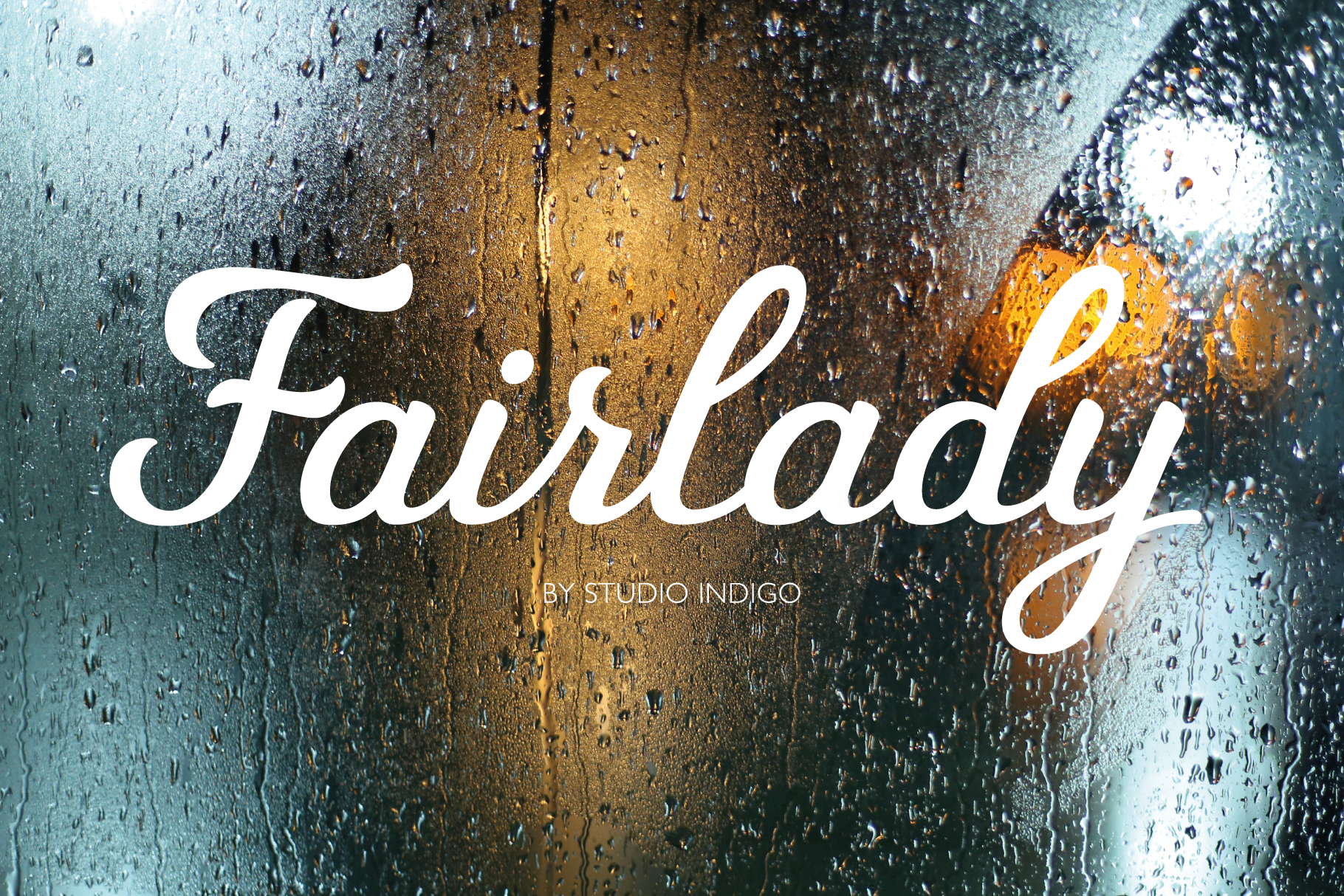 Fairlady a Chunky Script Font example image 1