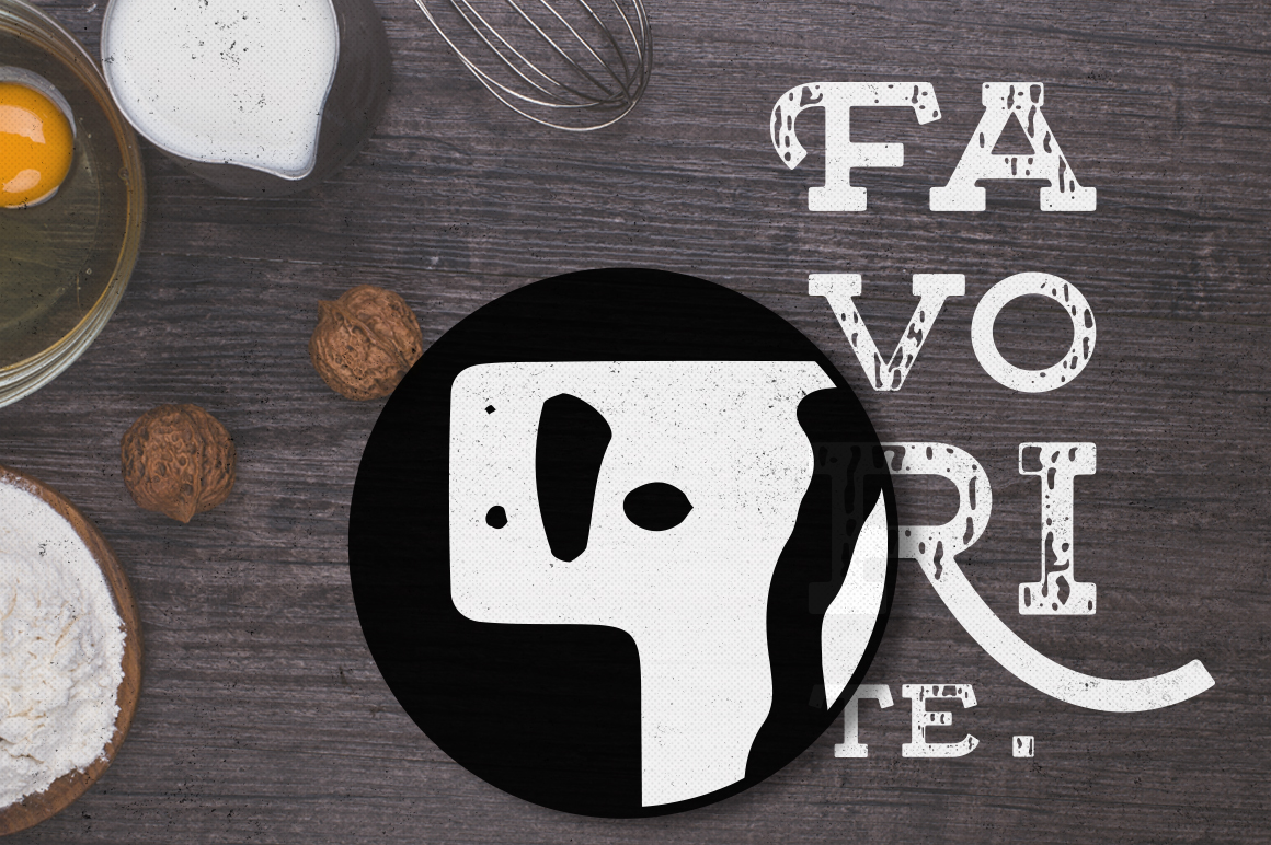 Floure Typeface + Extras example image 4