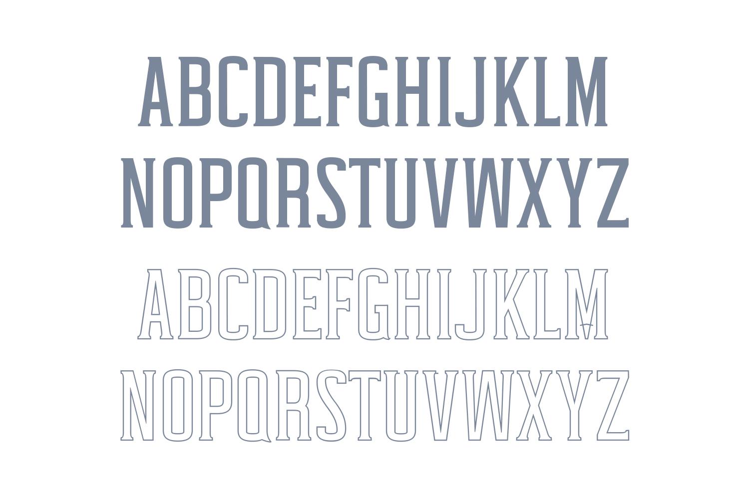 Cabales Duo Font | Bonus Freebie example image 2