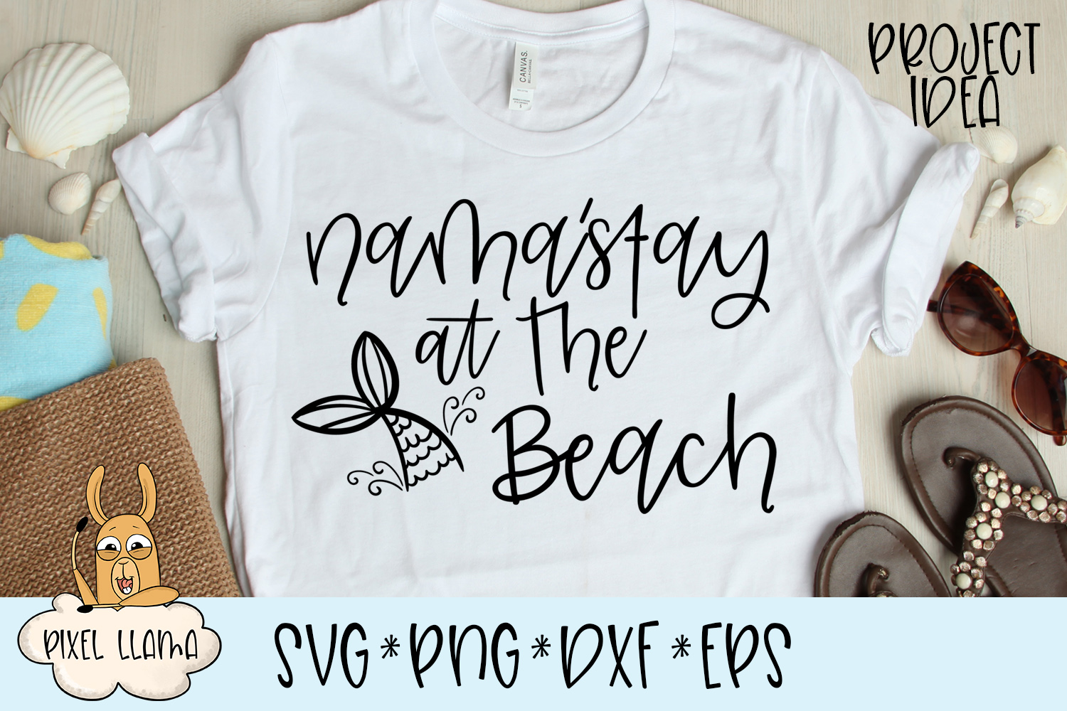 Nama'Stay At The Beach SVG example image 2