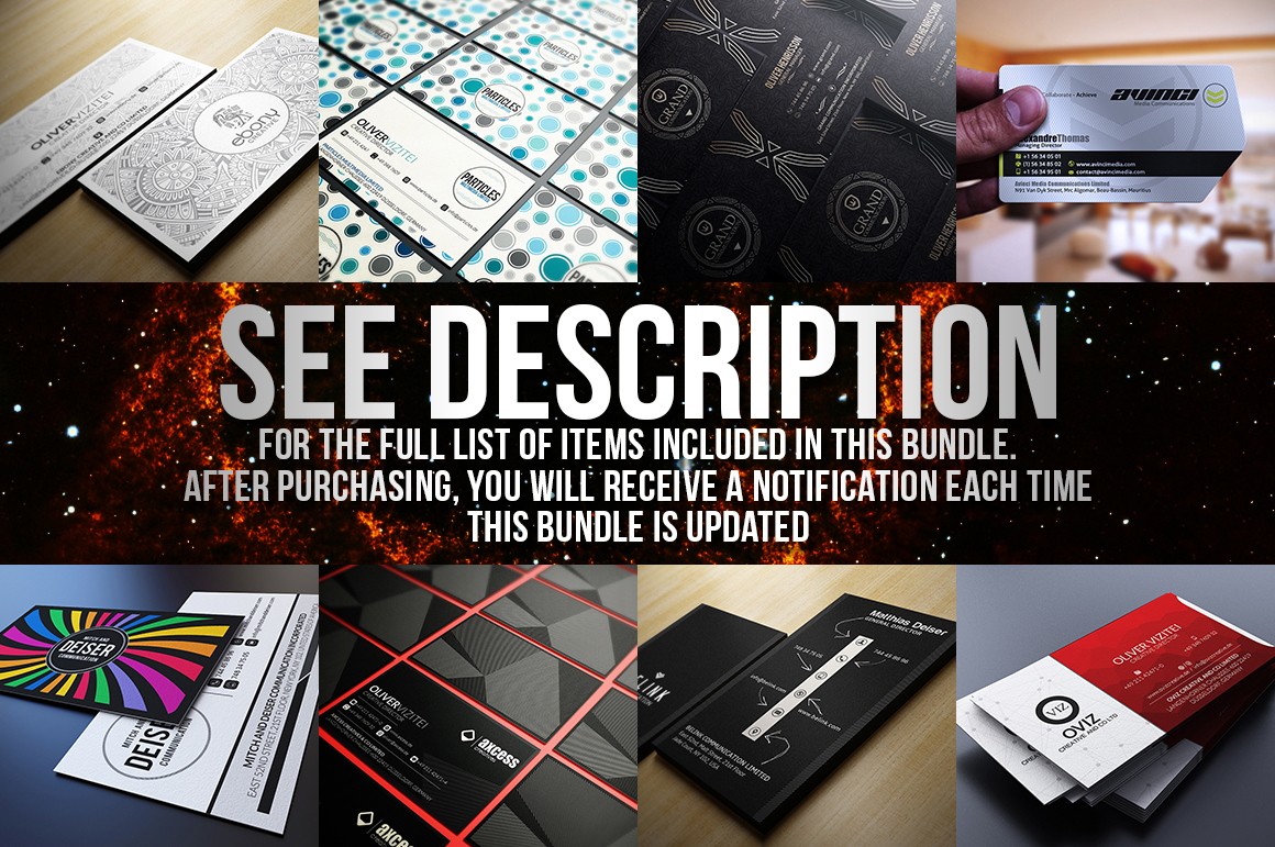 100 Massive Business Card Bundle example image 4