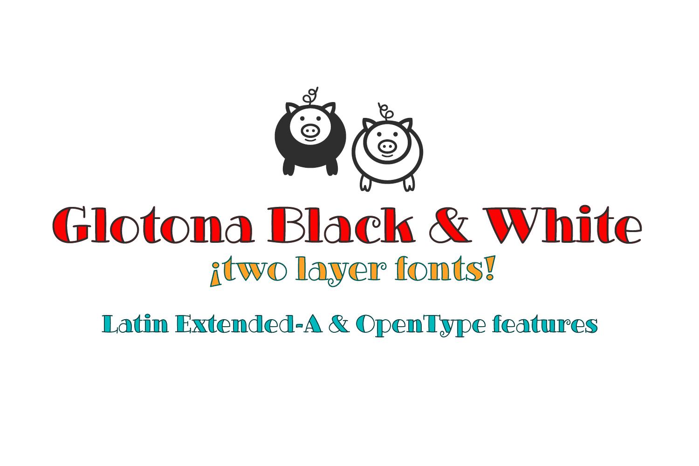 Glotona's Family Fonts example image 6