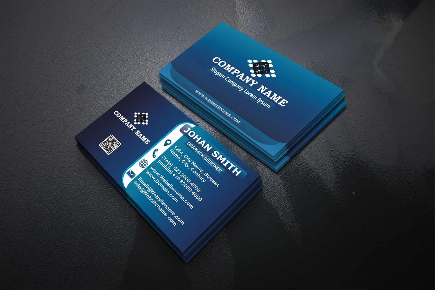 Modern Business Cards example image 1