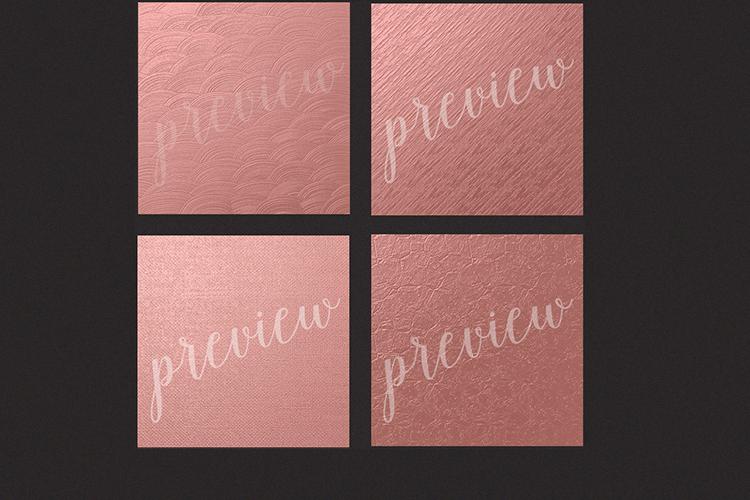 Rose Gold Foils - Rose Gold Backgrounds example image 2