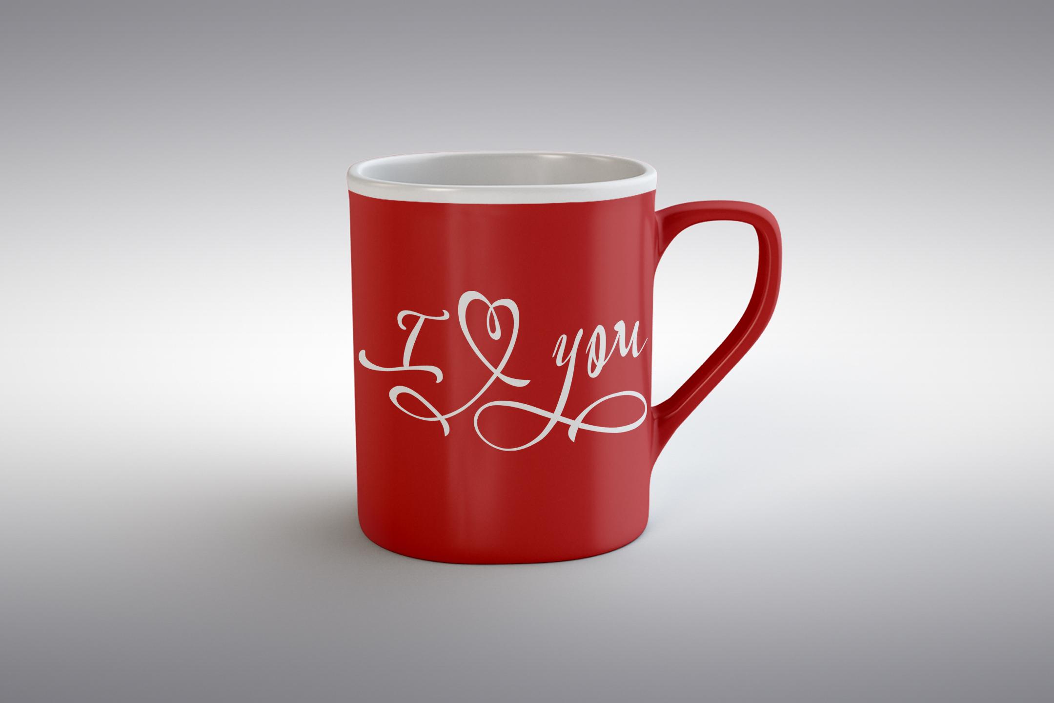 I love you svg Valentine svg Love heart svg example image 2