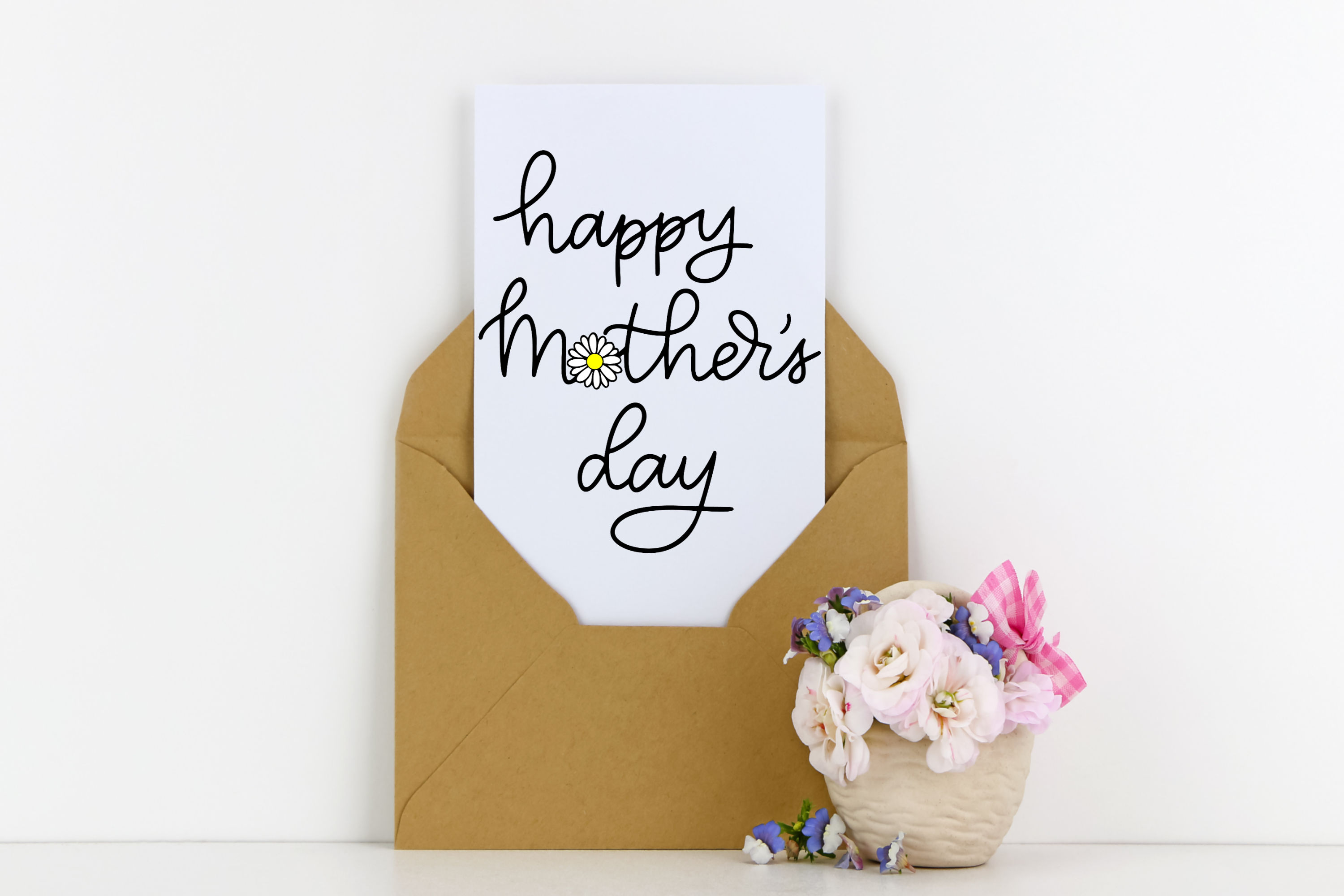 Happy Mother's Day SVG - with Daisy example image 2