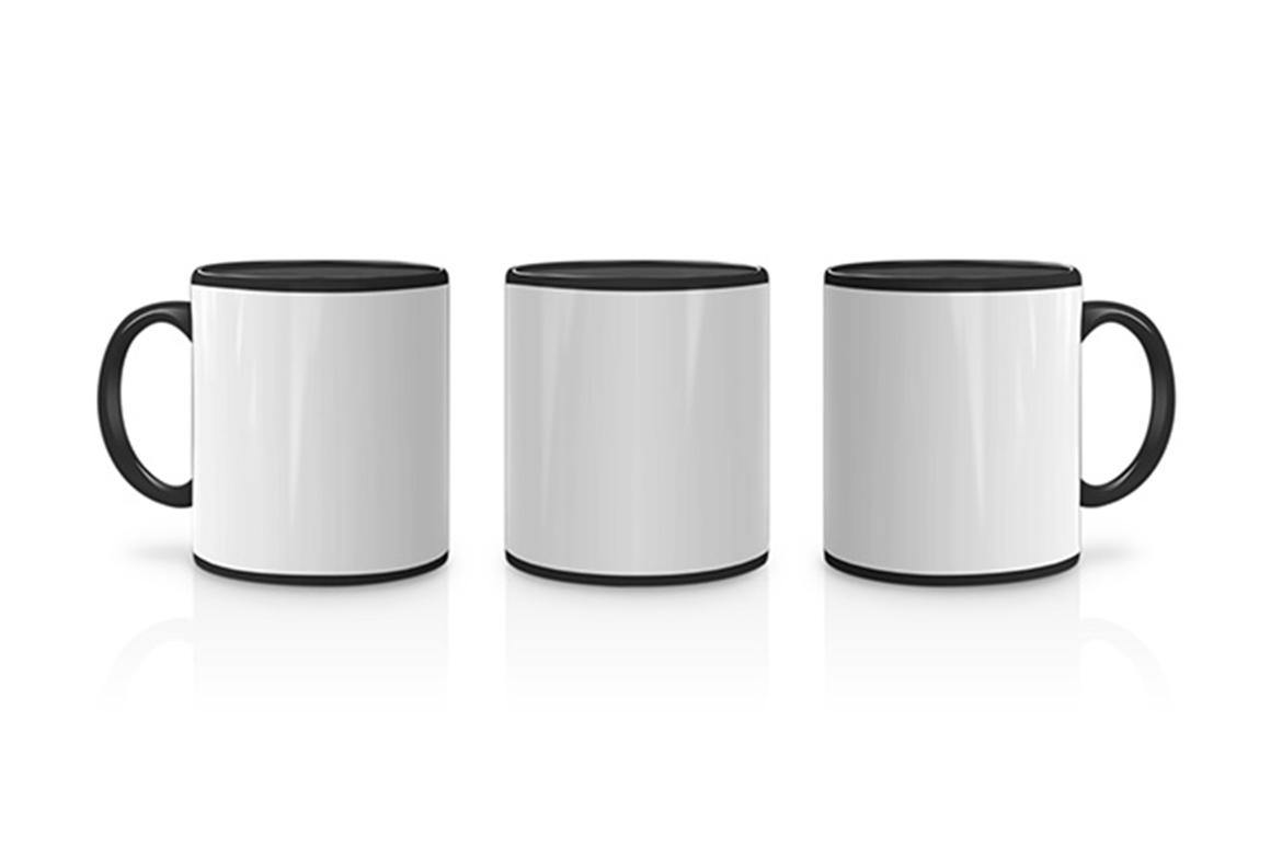 Small White Coffee Mugs Design Mockup Example Image 4