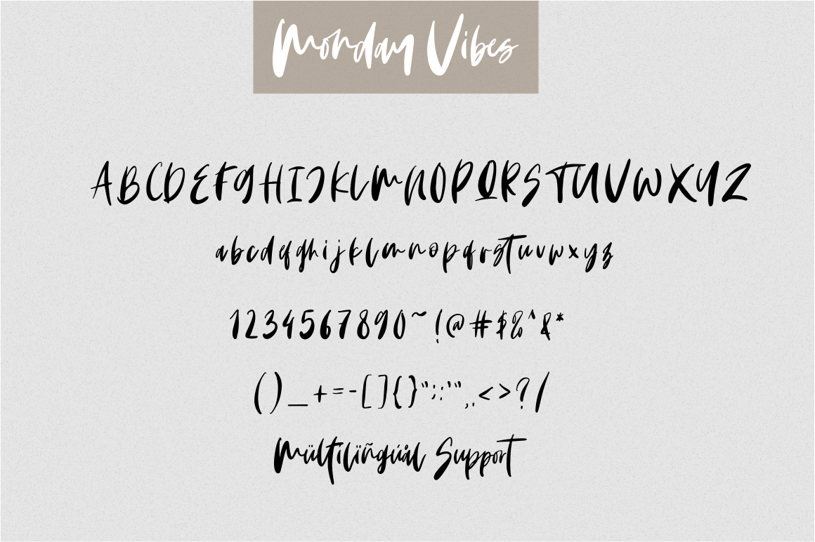 Monday Vibes - Handwritten Font example image 11