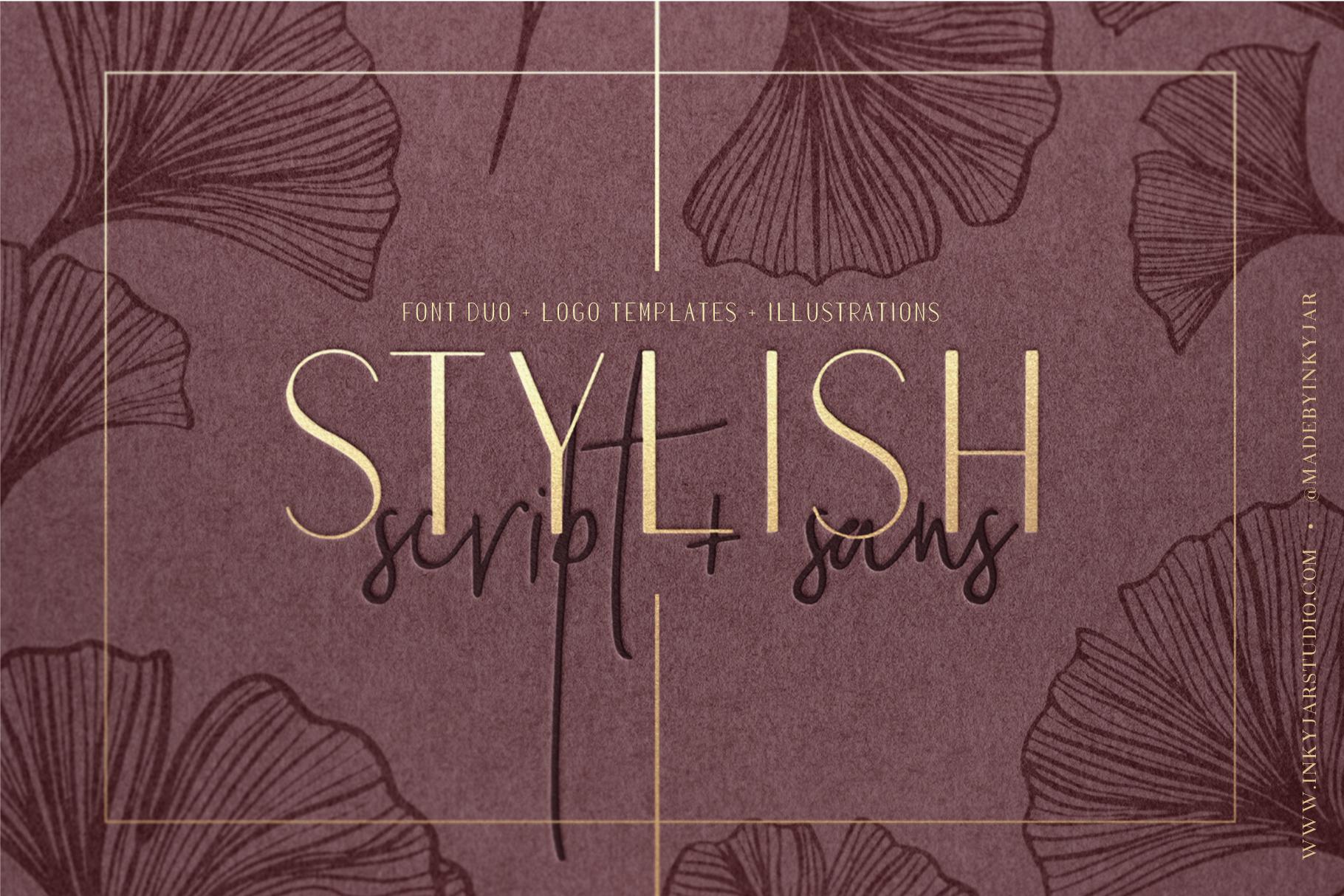 Stylish Font Duo example image 1