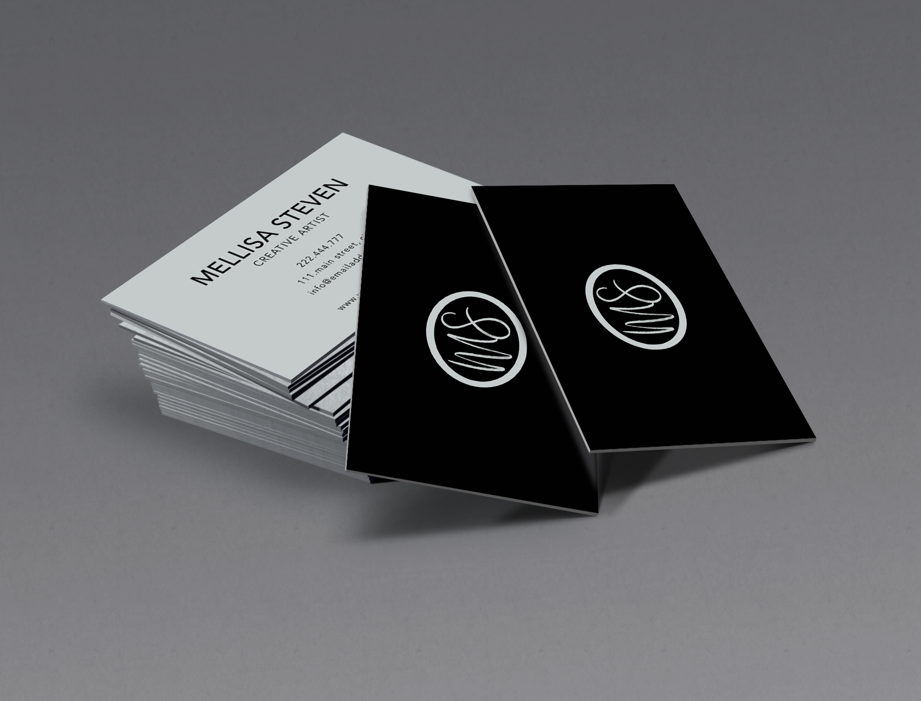 Elegant business card for everyone example image 2