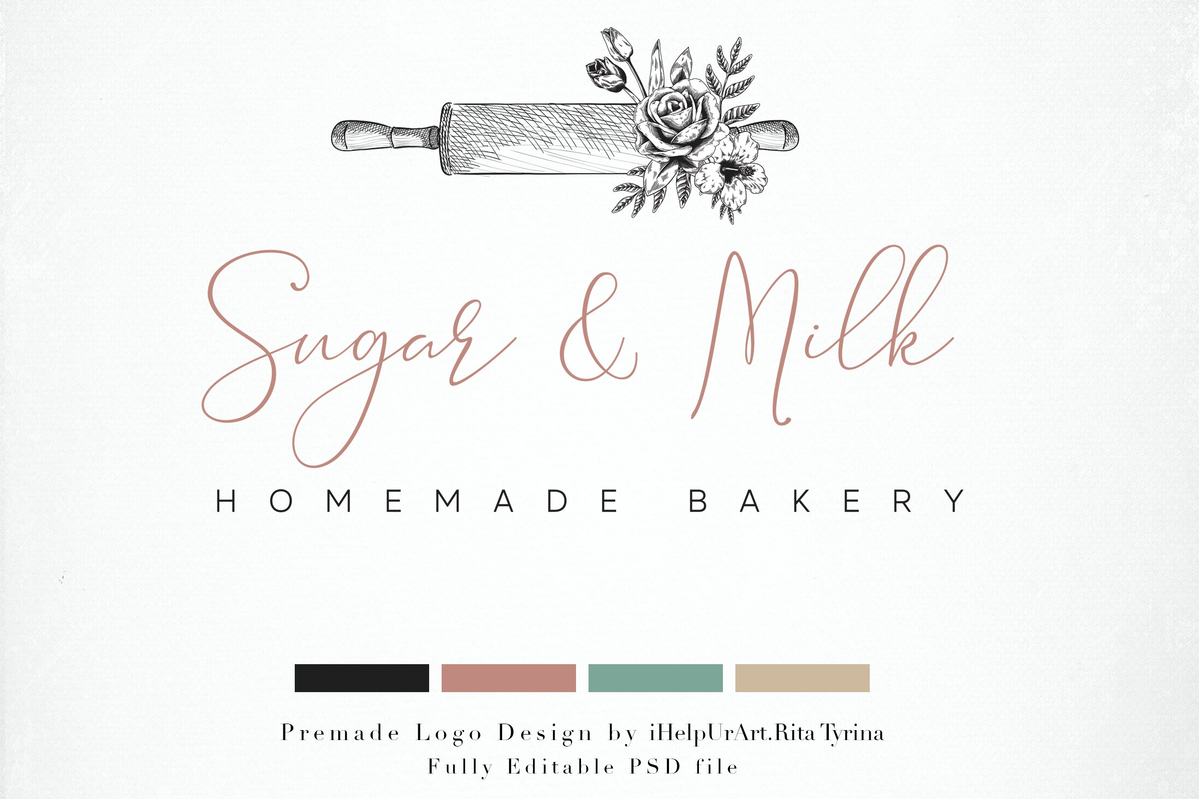 Bakery Logo Template example image 1