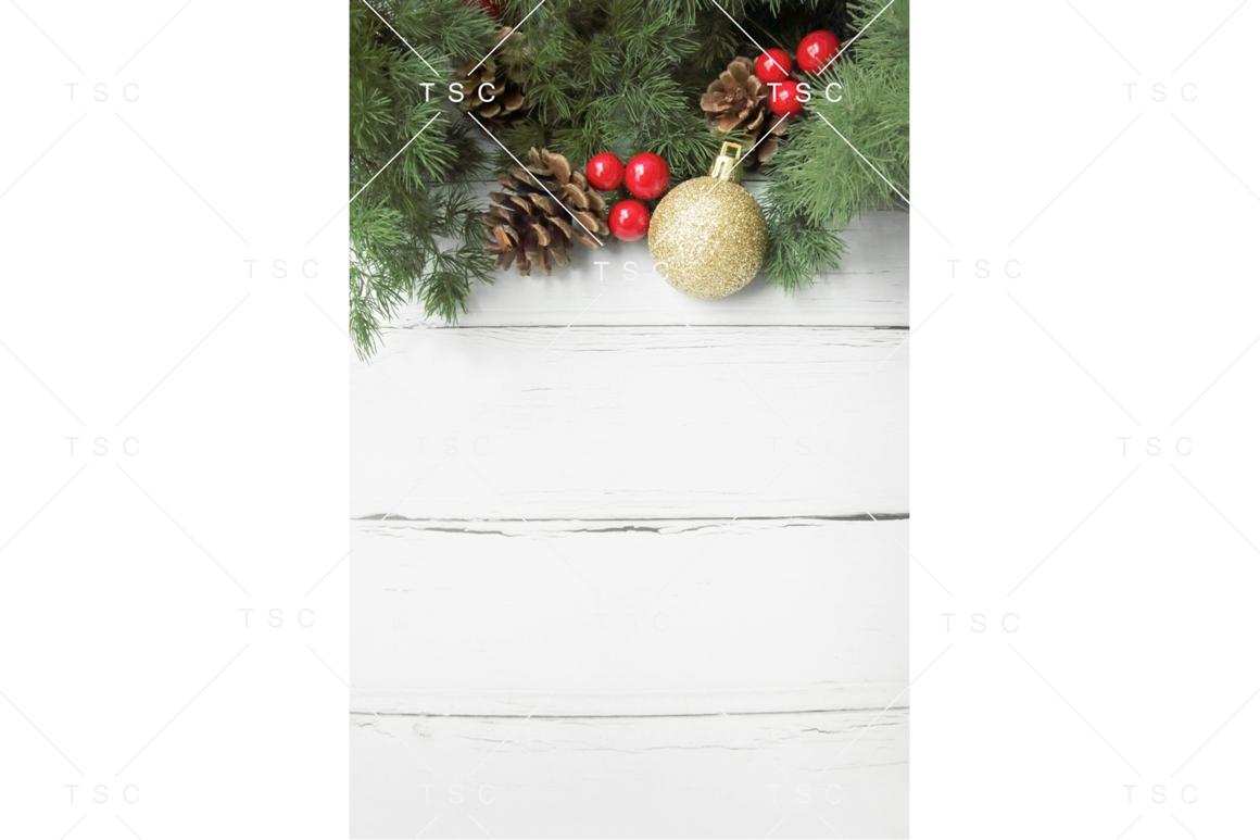 Christmas Stock Photo / Background Image / Pine Cone example image 1