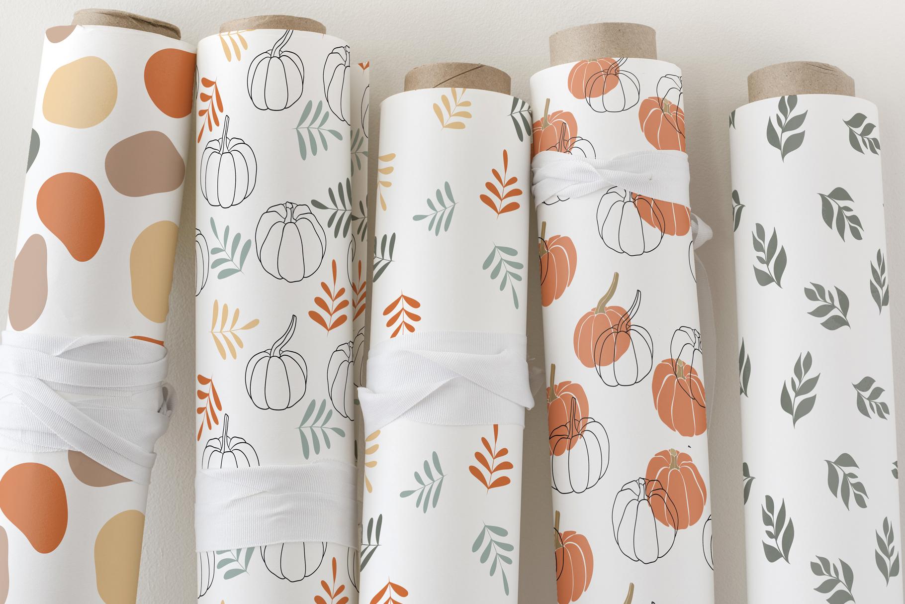 Autumn Vibes. Line art example image 11