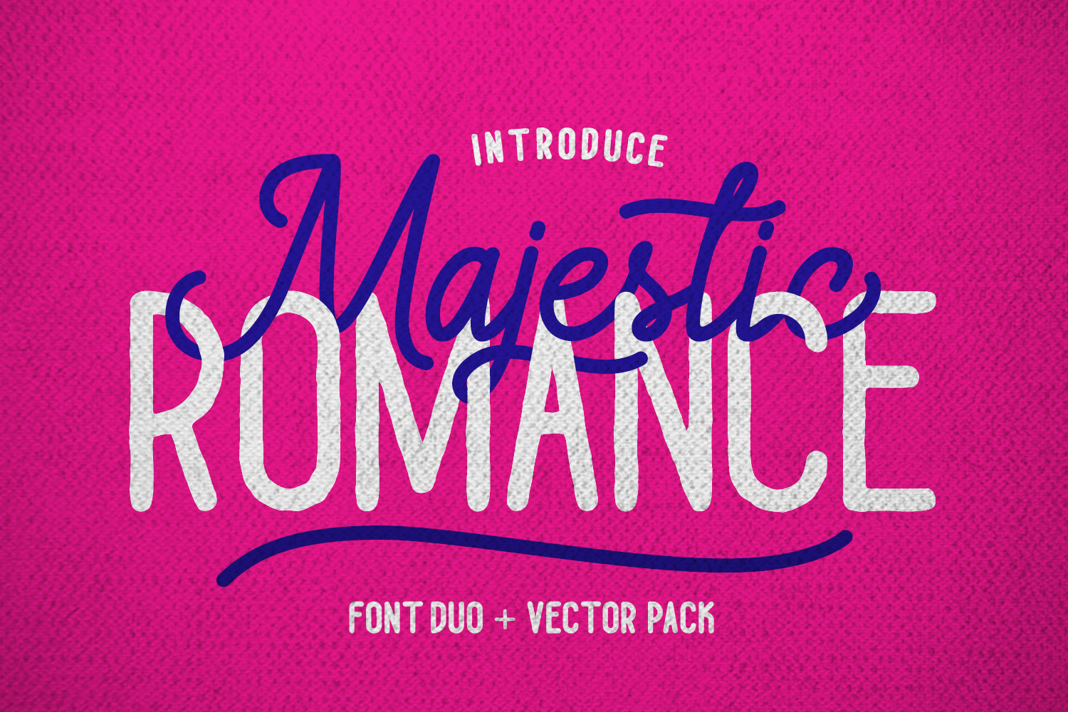Majestic Romance - Font Duo example image 1