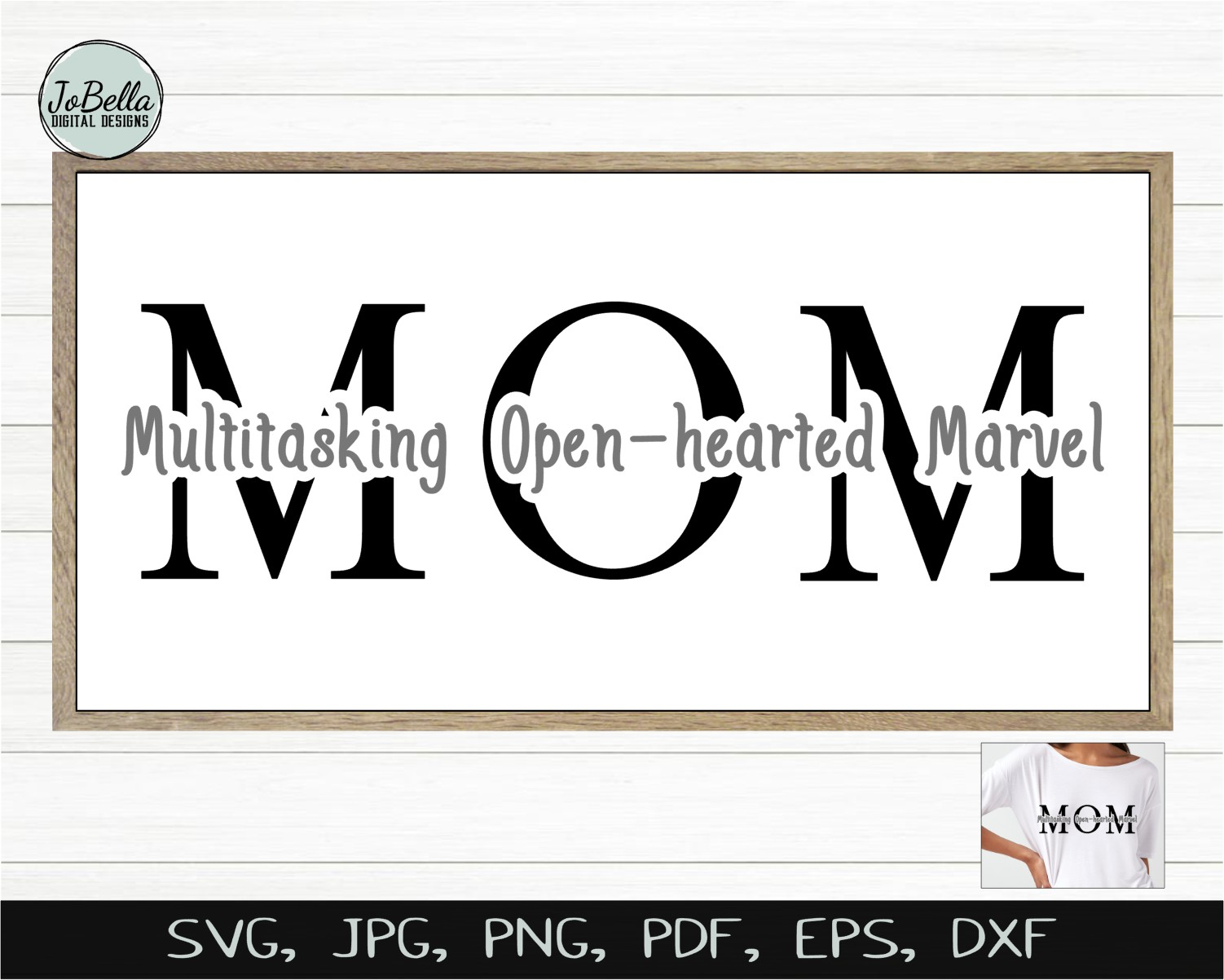 Mom SVG, Sublimation Design and Mother's Day Printable example image 2