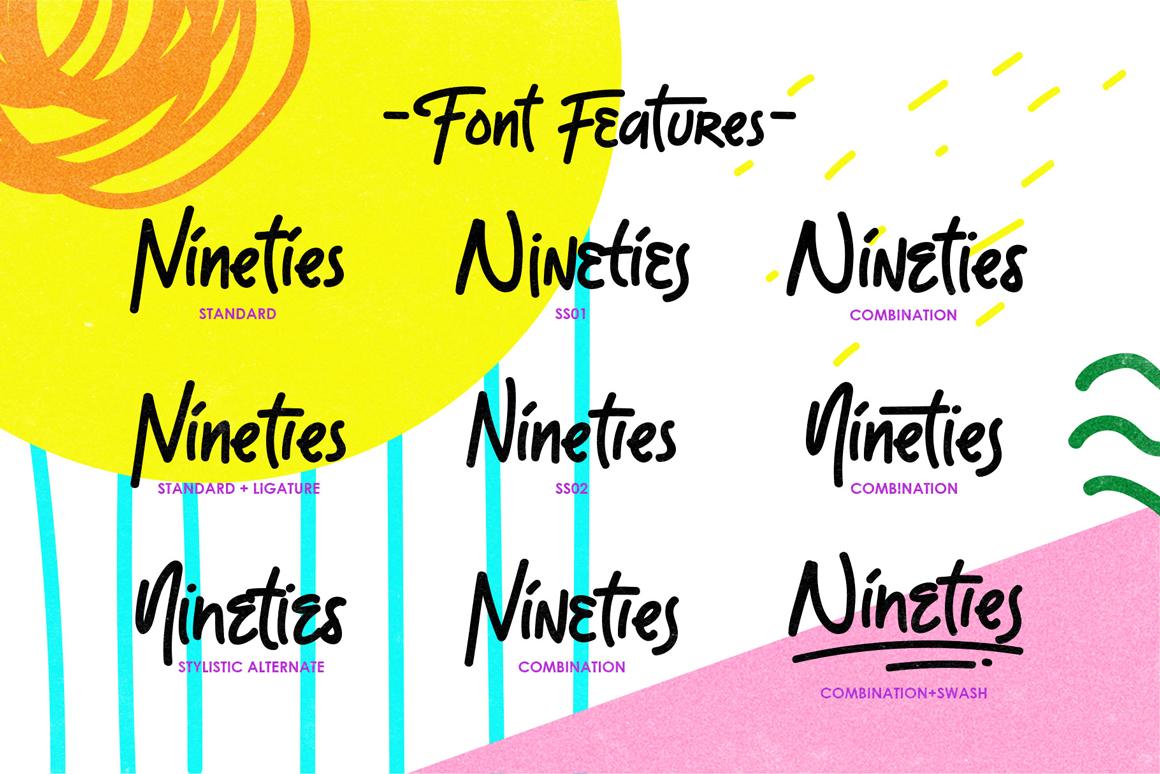 The Moonlight - Handwritten Font example image 2