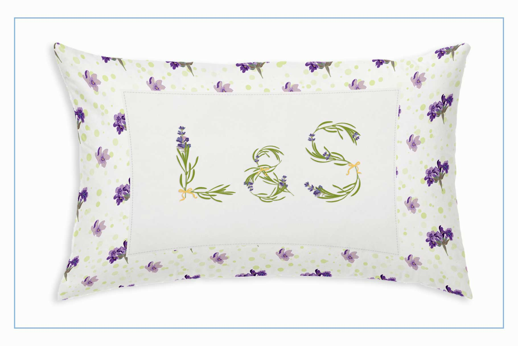 LAVENDER-TIME  multicolor font example image 5