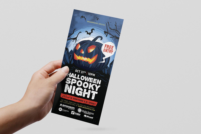 Halloween Flyer Templates example image 6