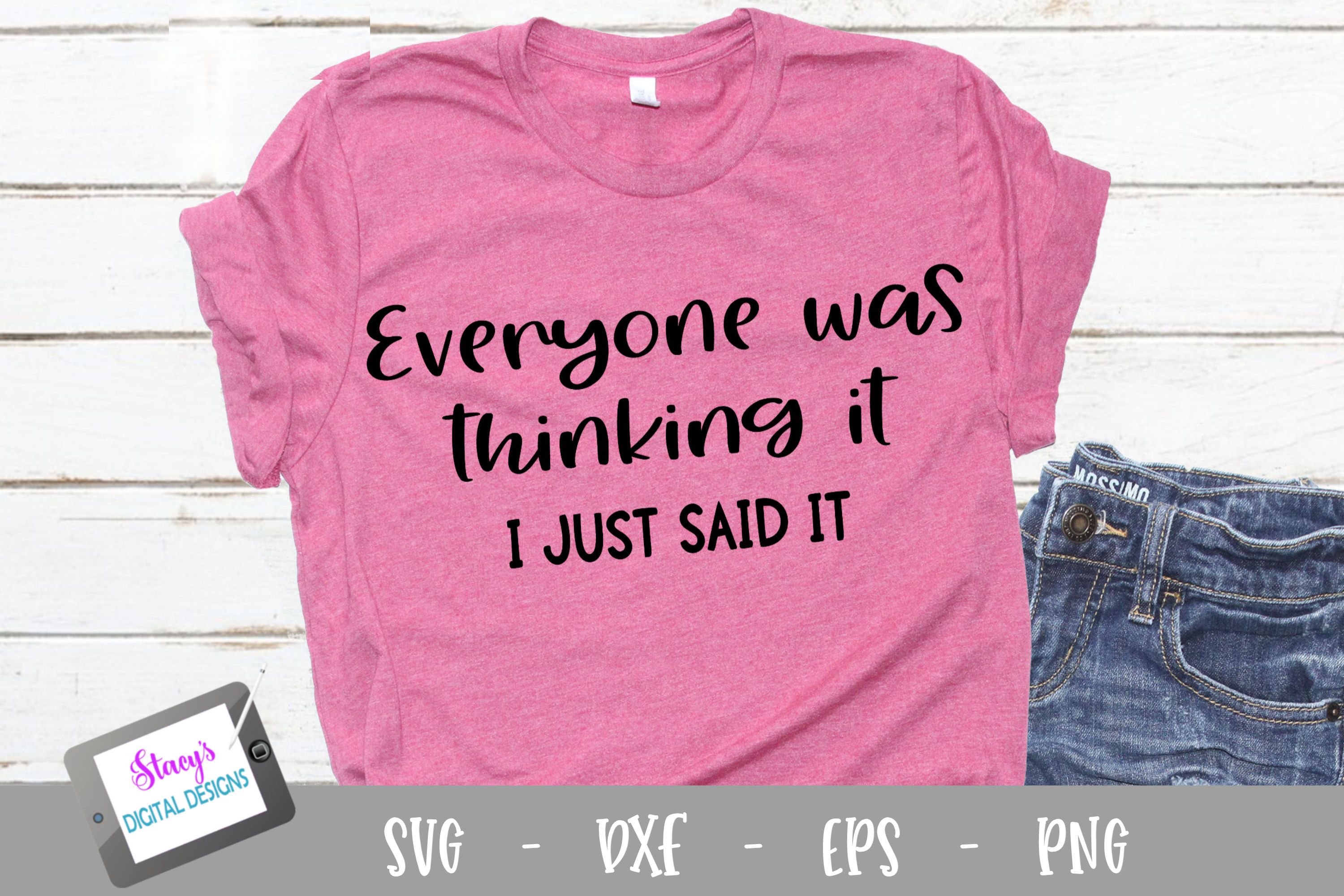 Funny Quotes Bundle Vol. 3 - 6 funny SVG Quotes example image 5