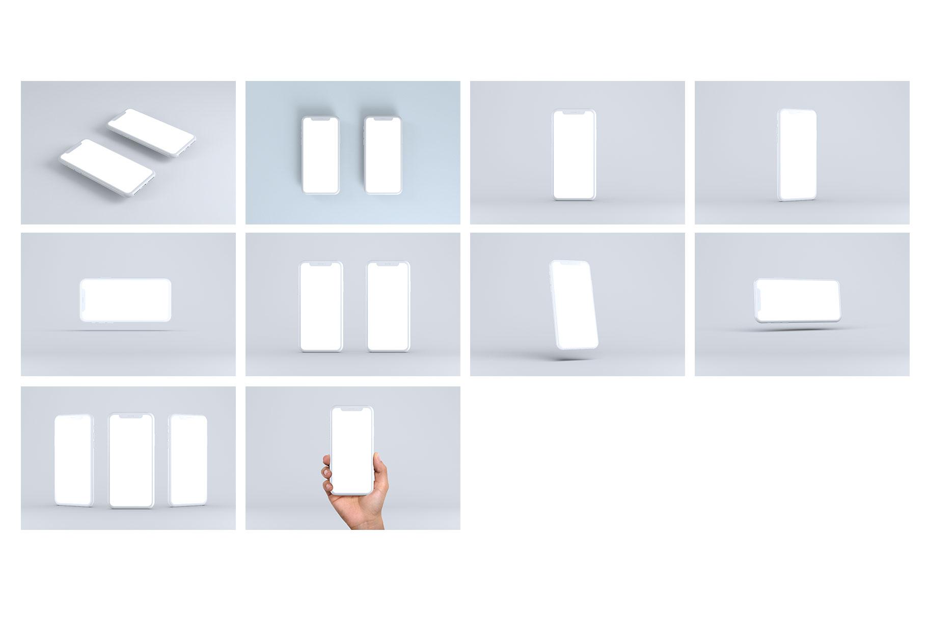 Smartphone Mock-Ups example image 14