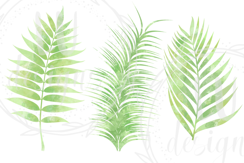 Watercolor Greenery example image 6