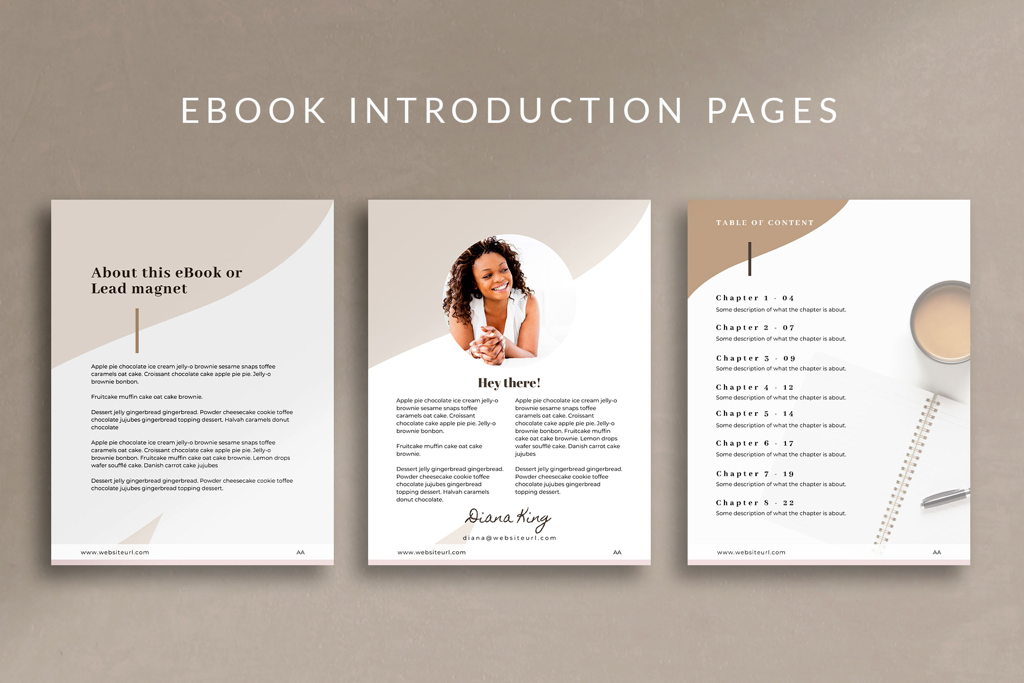 eBook or Lead Magnet Canva Template | Nordic example image 6