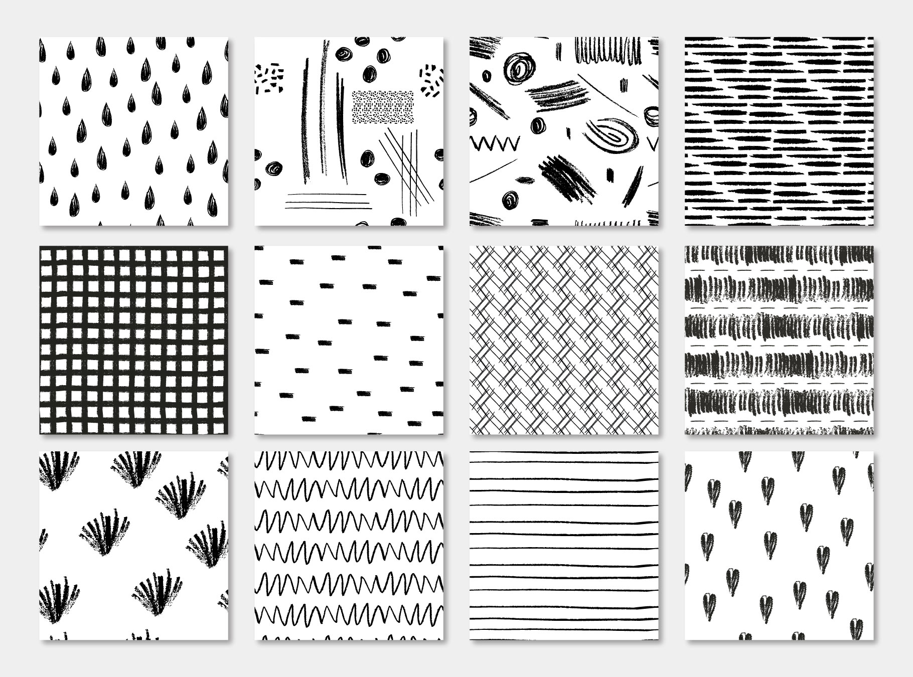 Pensil Confetti Patterns & Elements example image 13