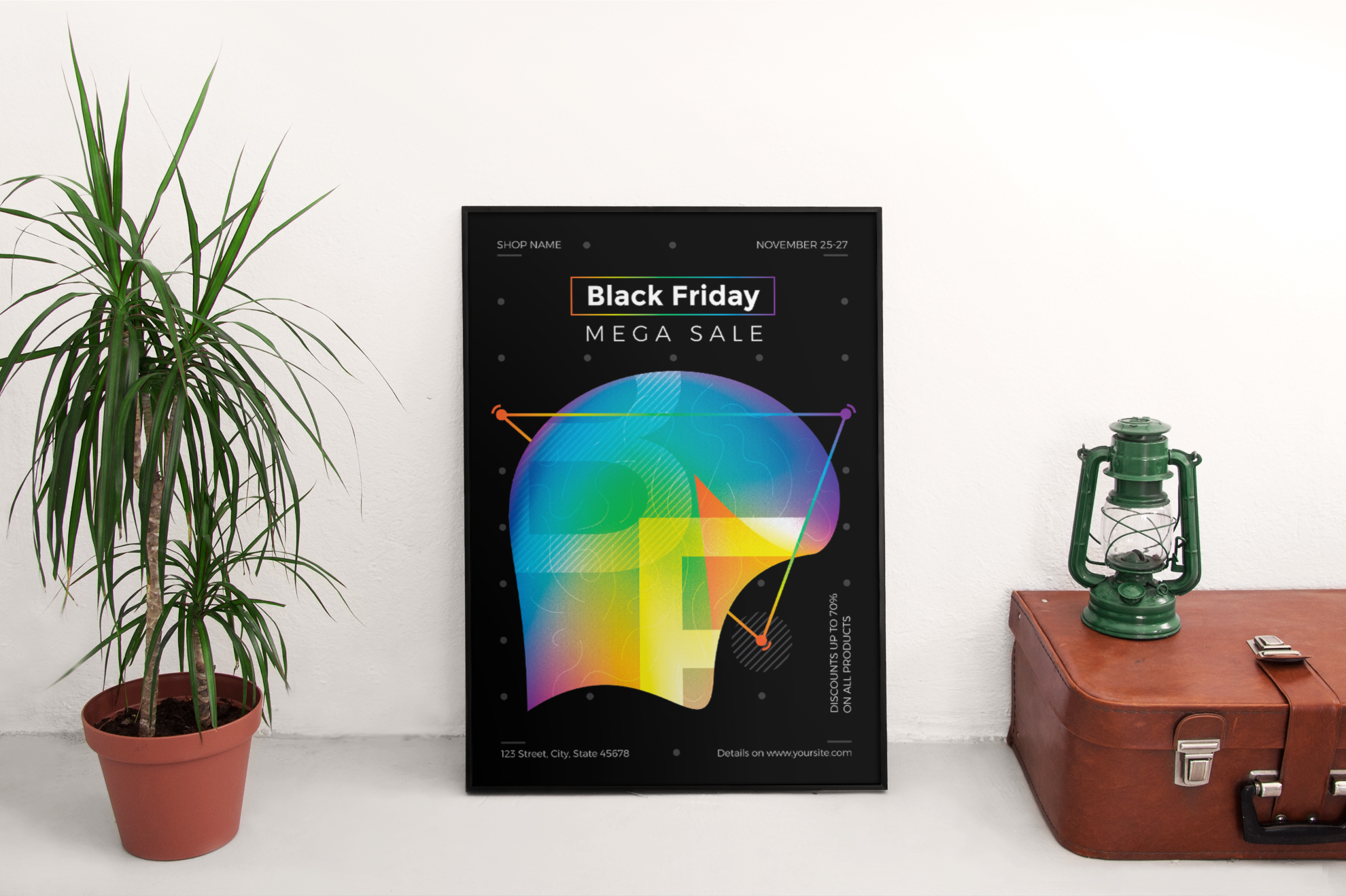 Black Friday Sale Design Templates Bundle example image 4