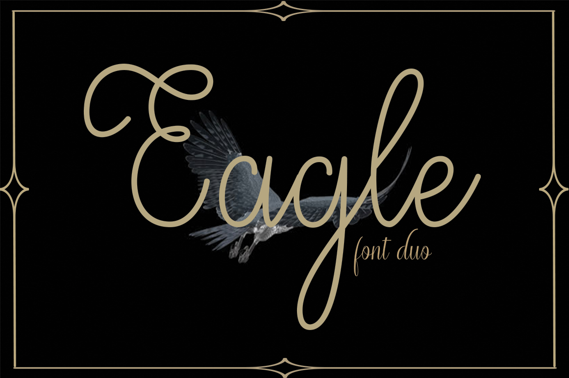 Eagle Font duo example image 4