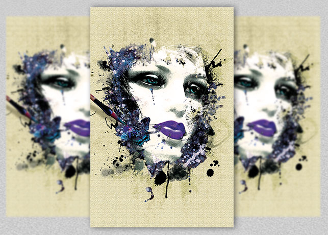 Mannequin Beauty Poster example image 1