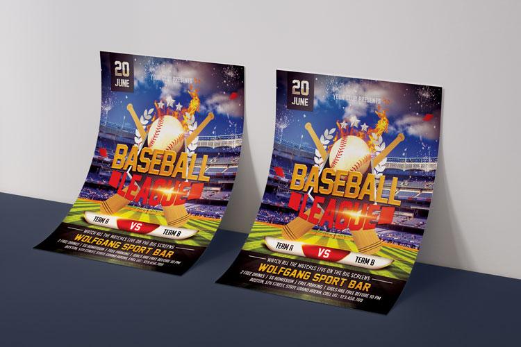 BASEBALL FLYER example image 4