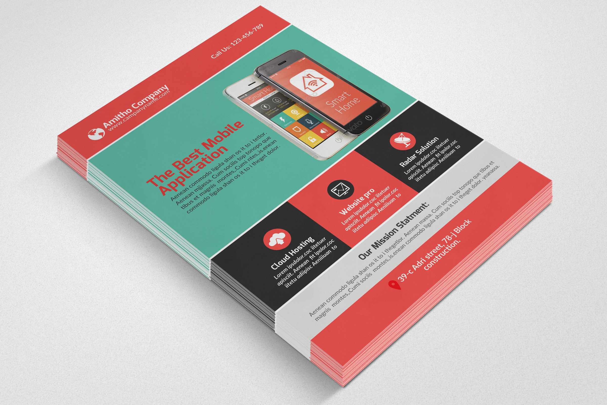 Mobile Apps Flyers example image 2