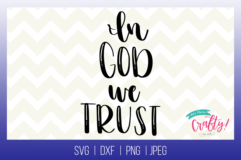 In God we Trust| Digital File example image 1