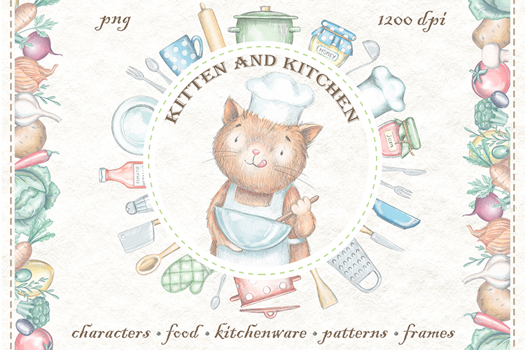 Kitten & Kitchen example image 1