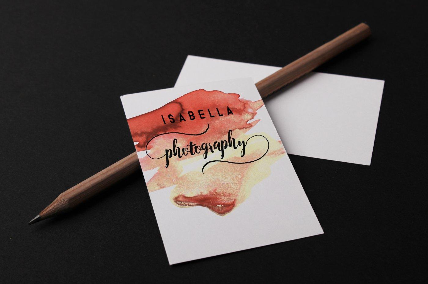 Botanic Swashes Font & Extras example image 5