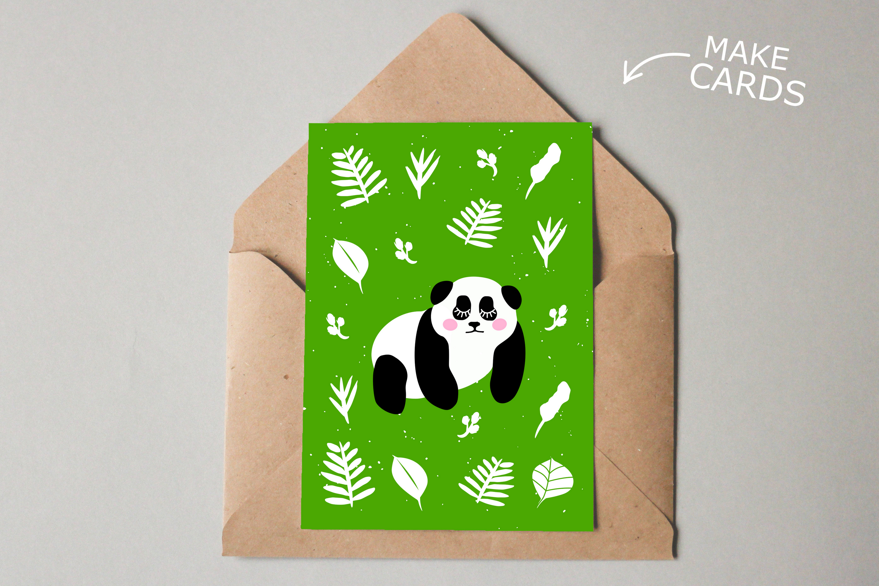 Panda Bundle SVG DXF EPS PNG example image 4