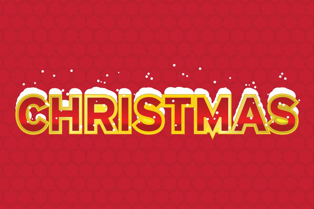 10 Retro Christmas Style for Adobe Illustrator example image 10