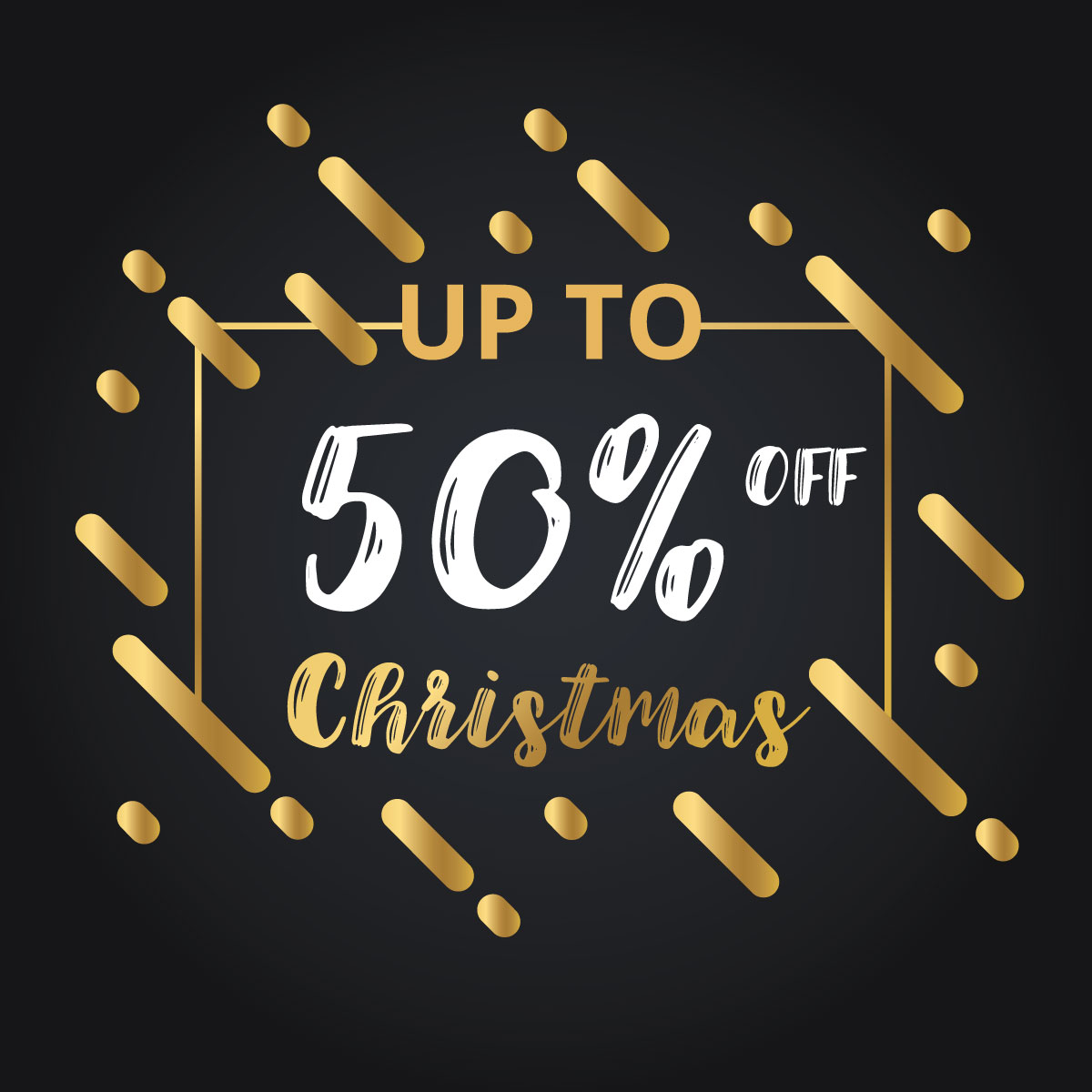 Christmas and New Year 2018 Discount Sale banners example image 4