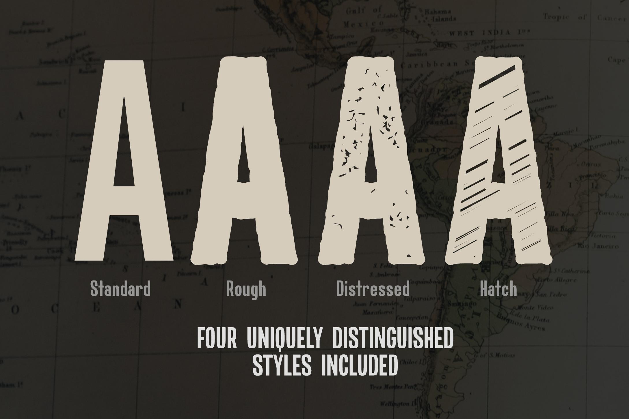 Expat - Tall & Rugged Sans-Serif example image 2