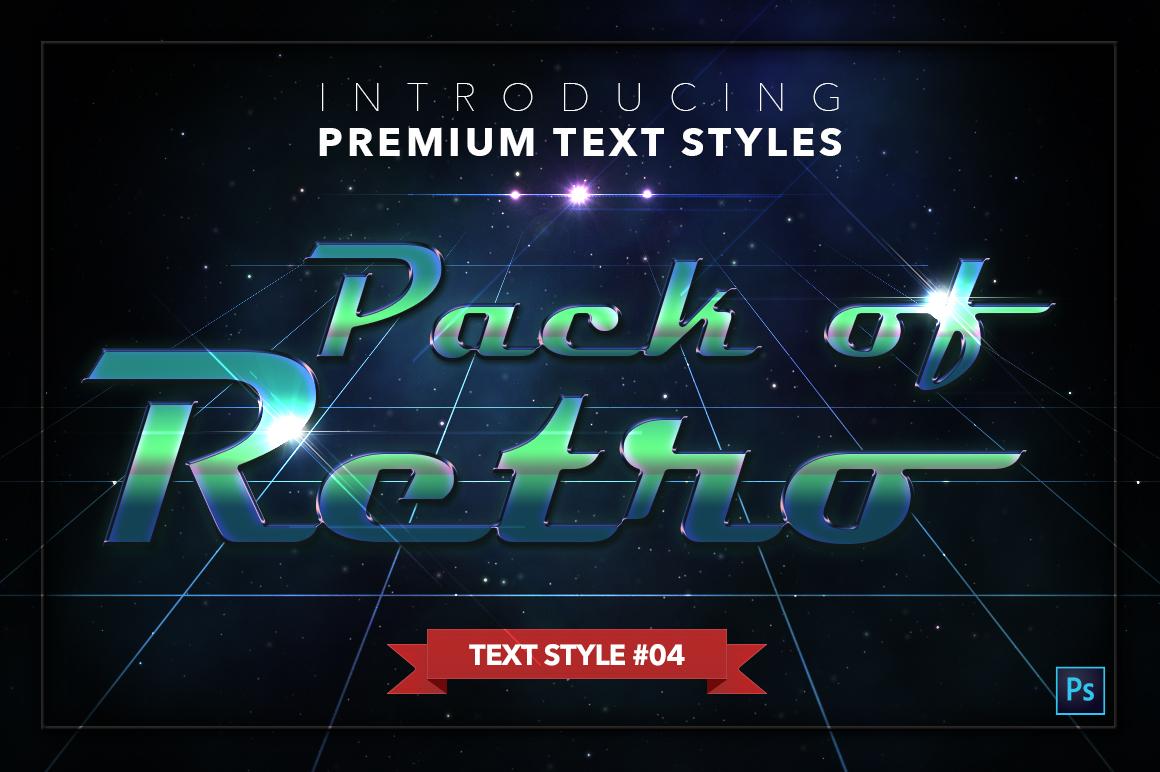 Retro #1 - 20 Text Styles example image 5