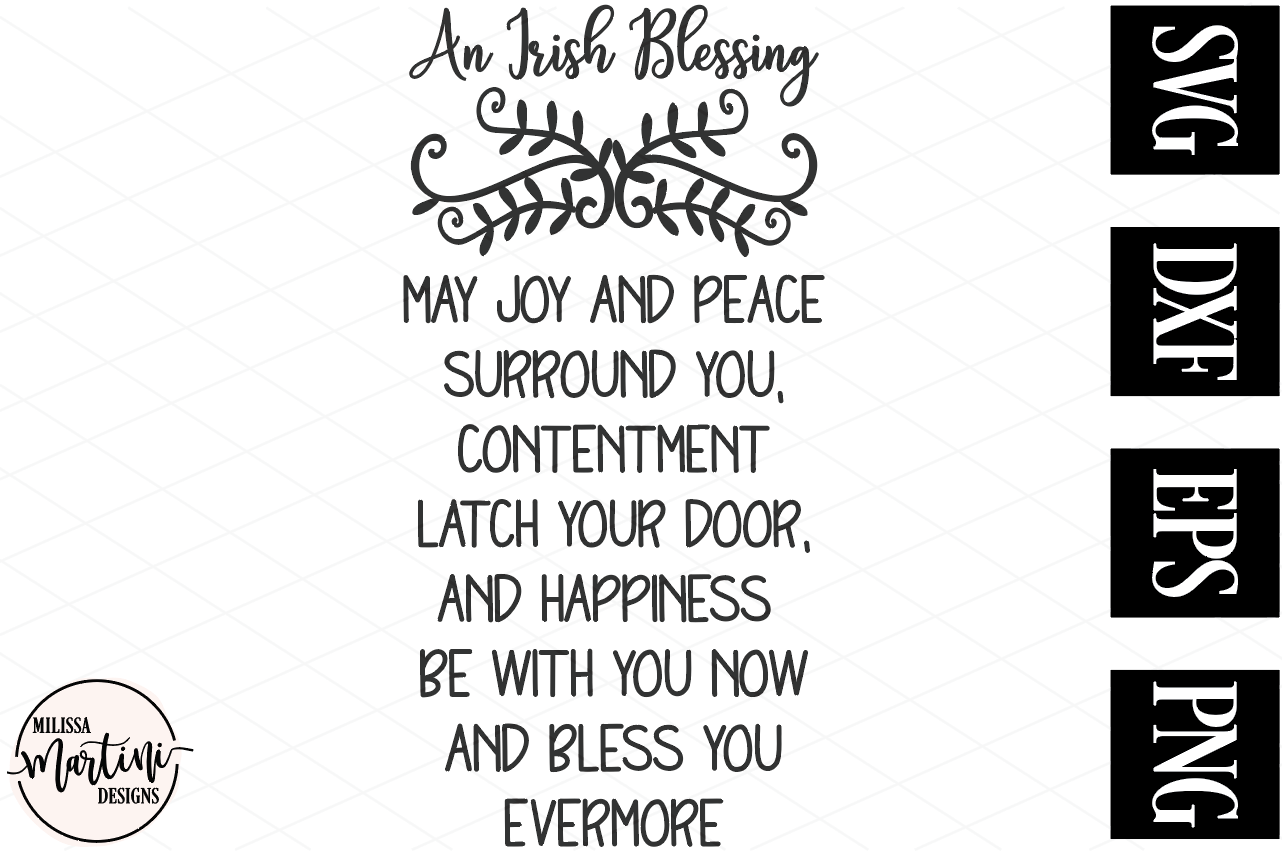 An Irish Blessing example image 2