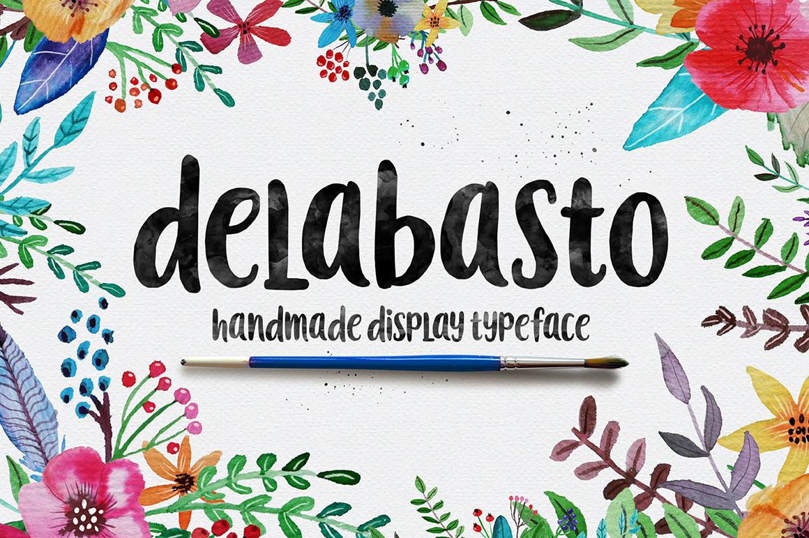 Delabasto Typeface example image 1